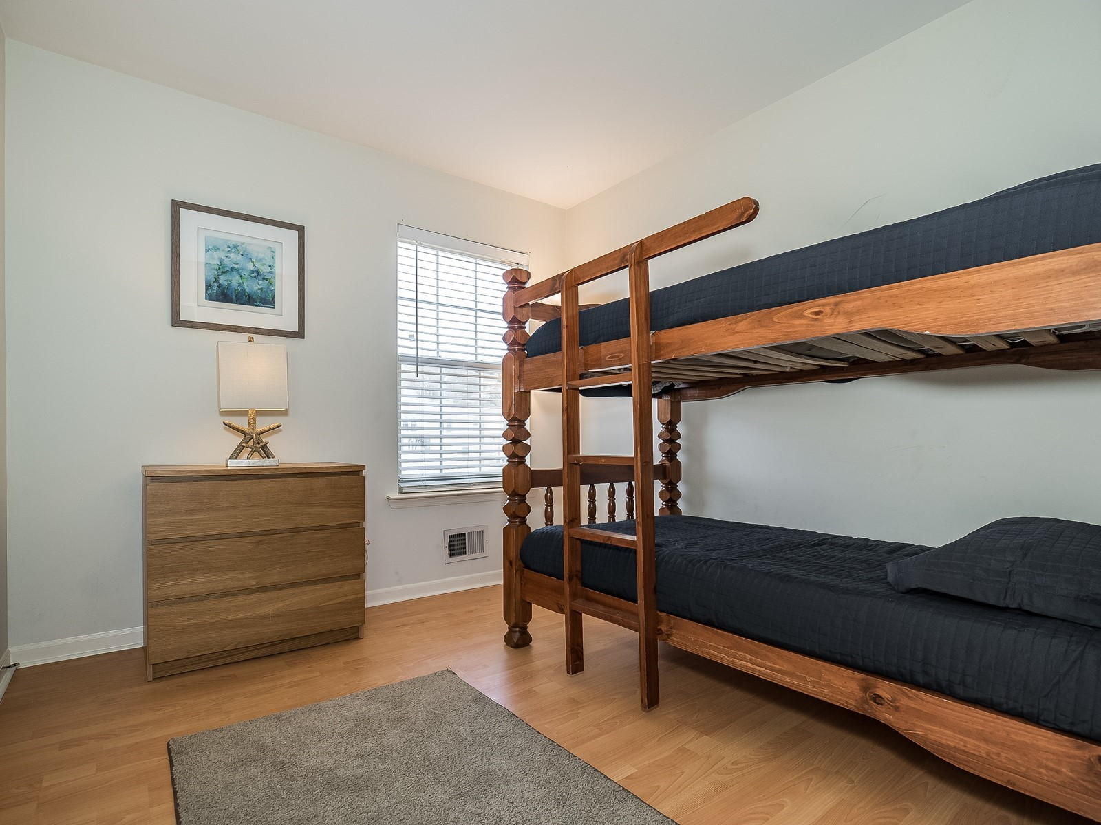 Woodbridge 29 Temporary Housing bedroom 3 with twin sized bunk beds
