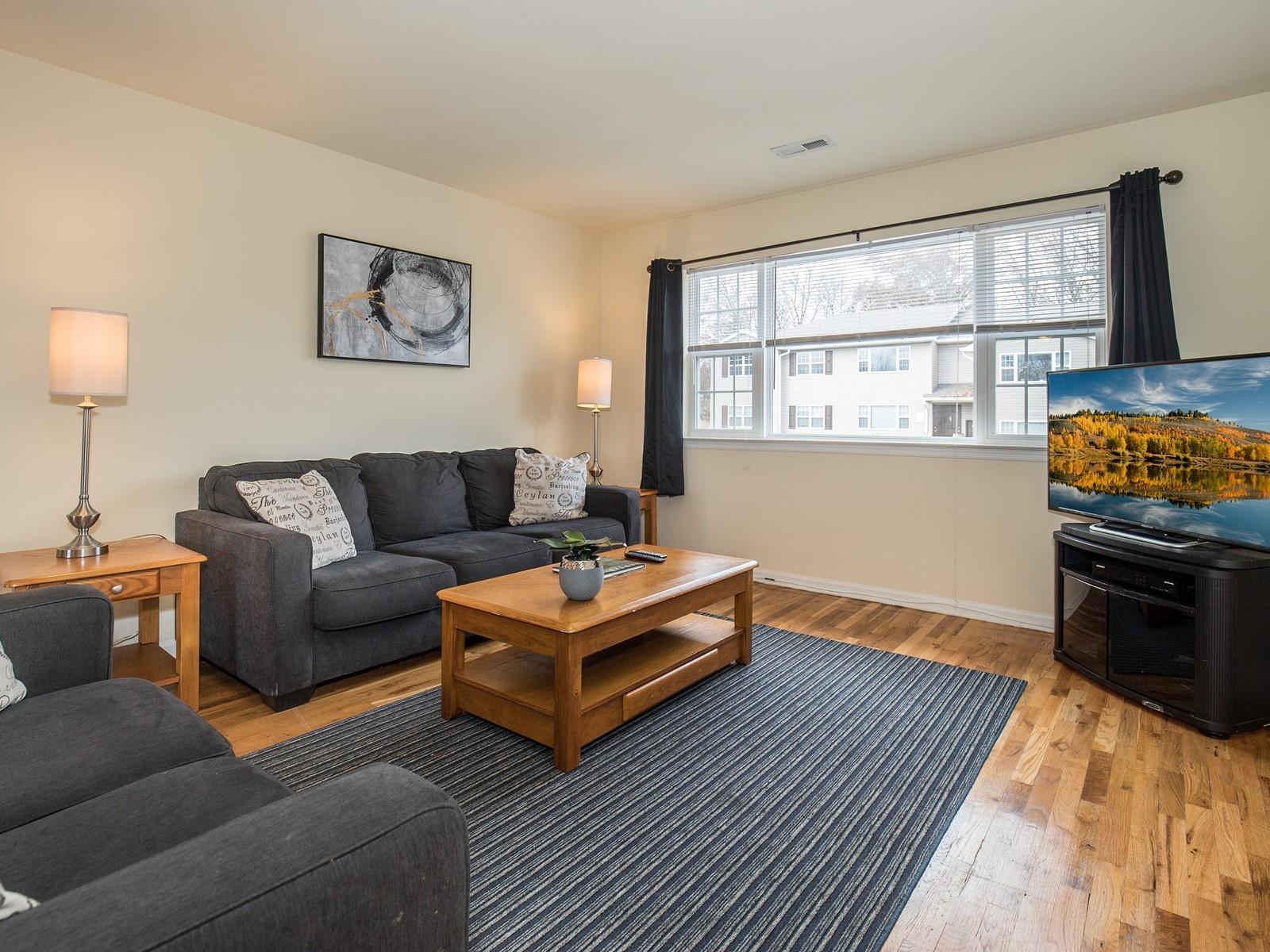 1_Short_Term_Housing_Bridgewater_Unit_94_Living Room