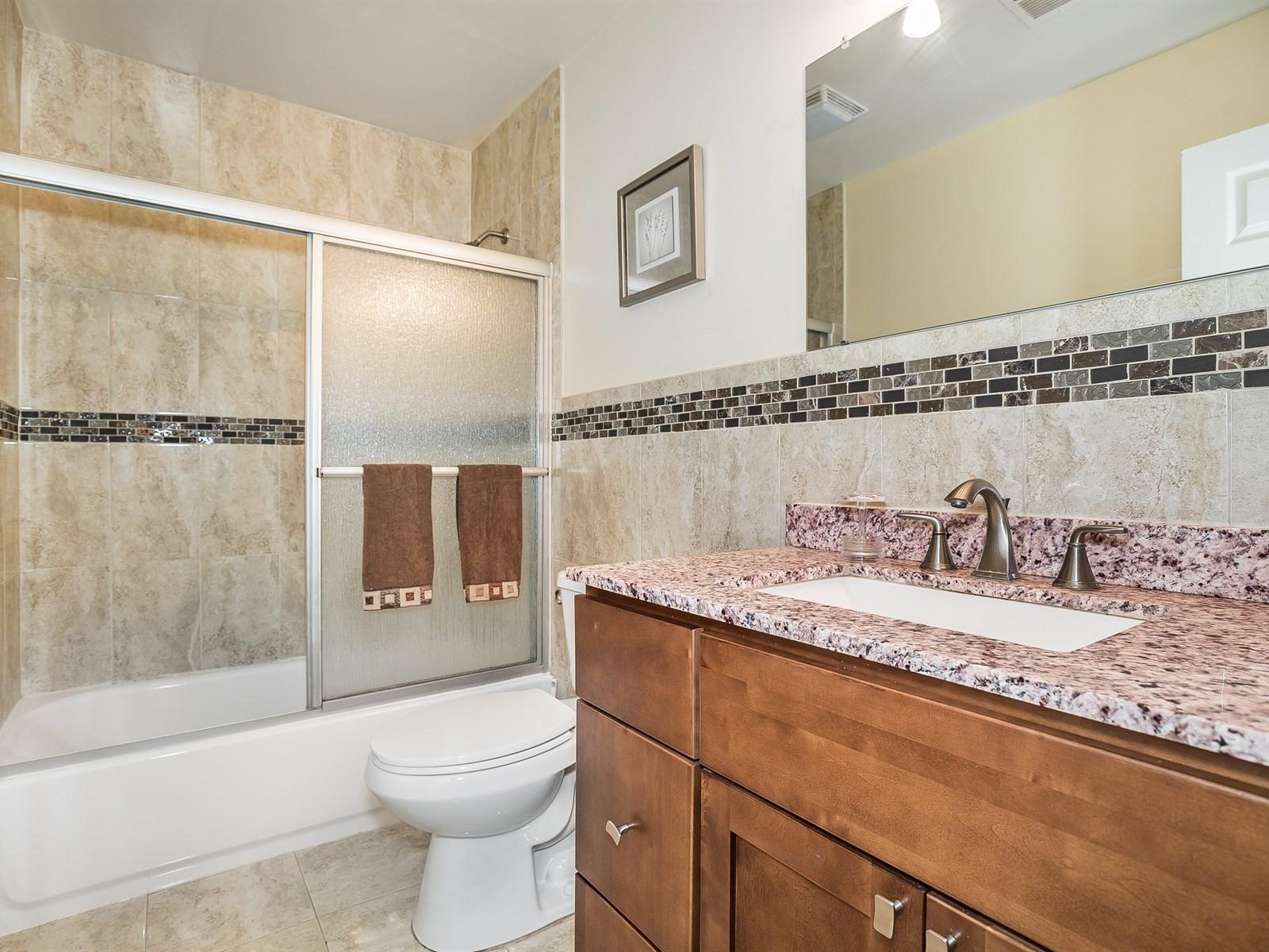 Woodbridge 4 Temporary Housing bathroom