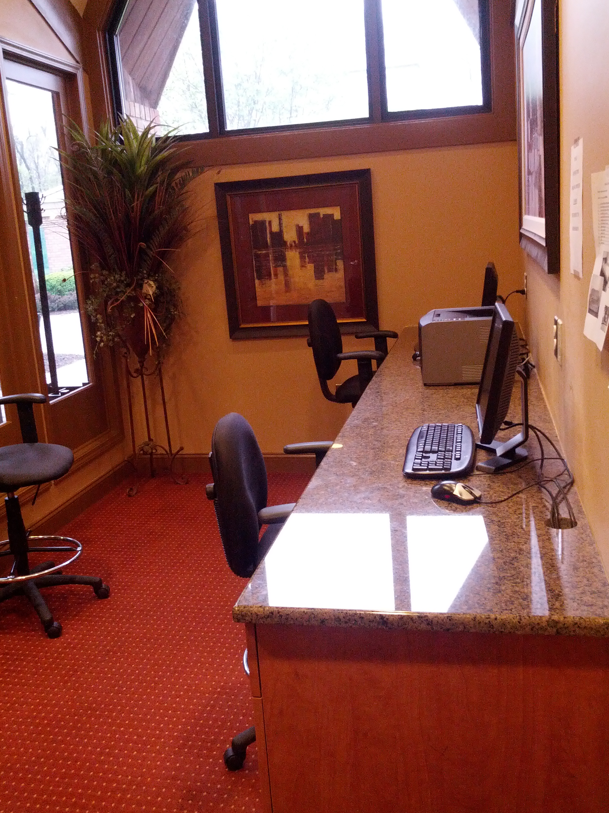 North Brunswick Temporary Housing office center